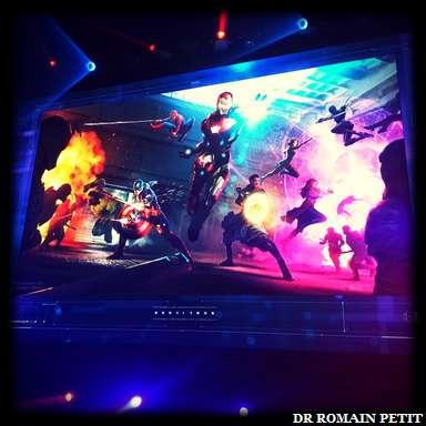 Image promotionnelle officielle du spectacle <i>Marvel : L'Alliance des Super Héros</i>