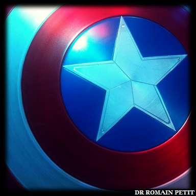 Bouclier de Captain America, personnage Marvel