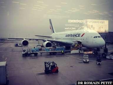 Le départ en Airbus A380 est imminent