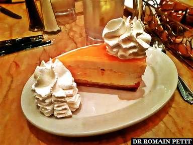 Ce soir c'est Mango Key Lime Cheesecake