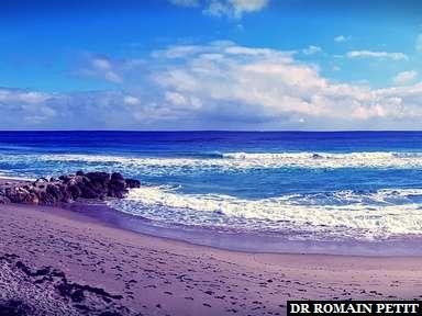 Panoramique de la plage de Palm Beach