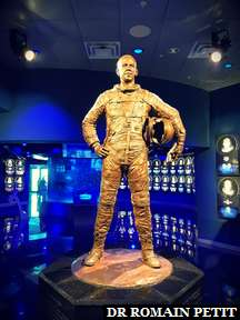 Statue de Alan B. Shepard Jr. au Kennedy Space Center