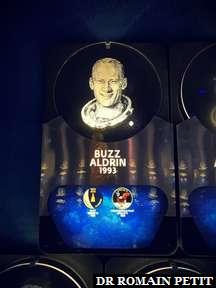 Portrait de Buzz Aldrin et ses missions au Kennedy Space Center