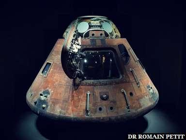 Capsule lunaire Apollo 14 au Kennedy Space Center