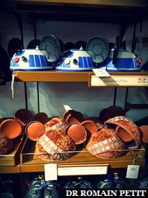 Etalage d'oreilles de Mickey sur le thème de Star Wars à Disney Springs (WDW)