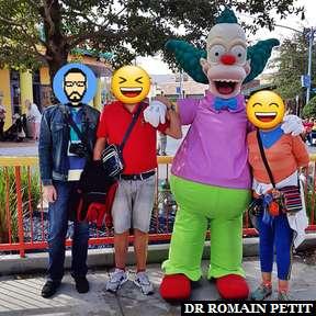 Rencontre avec Krusty le Clown (Les Simpsons) à Universal Studios Florida