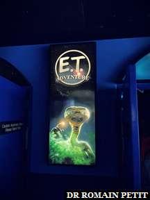 Attraction E.T. Adventure à Universal Studios Florida