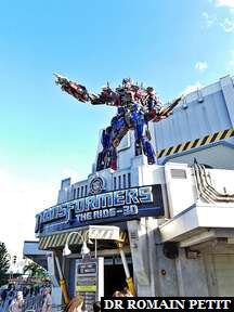 Attraction Transformers the ride 3D à Universal Studios Florida