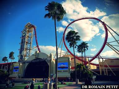 Attraction Hollywood Rip Ride Rockit à Universal Studios Florida