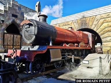 Locomotive du train Poudlard Express (Harry Potter) à Universal's Islands of Adventure