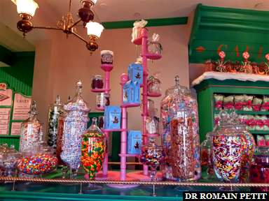 Boutique Honeydukes (Harry Potter) à Universal's Islands of Adventure