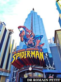 Attraction The Amazing Adventures of Spider-Man à Universal's Islands of Adventure
