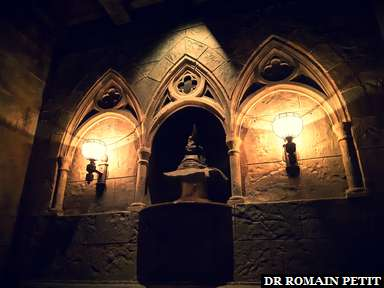 Choixpeau dans l'attraction Harry Potter and the Forbidden Journey (Harry Potter) à Universal's Islands of Adventure