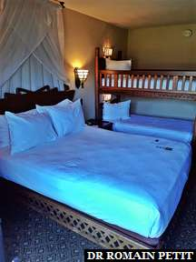 Lits de l'hôtel Disney's Animal Kingdom Lodge Resort