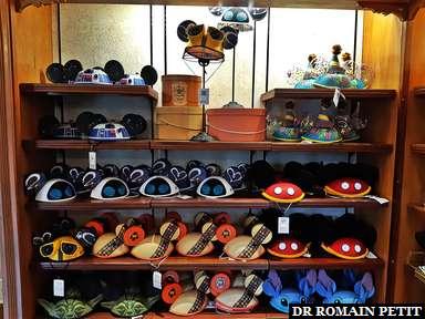 Boutique d'oreilles de Mickey à Magic Kingdom Park