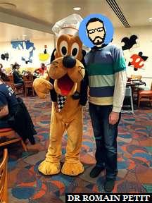 Rencontre avec Chef Pluto au restaurant Chef Mickey's au Disney's Contemporary Resort
