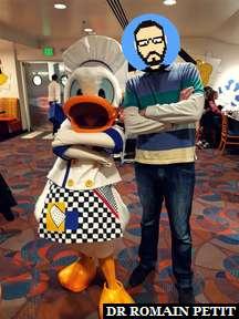 Rencontre avec Chef Donald au restaurant Chef Mickey's au Disney's Contemporary Resort