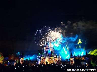 Spectacle nocturne Happily Ever After sur le château de Cendrillon à Magic Kingdom Park