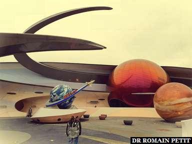 Attraction Mission Space à Epcot