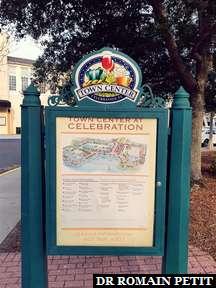 Visite de Celebration, ville créée par The Walt Disney Company