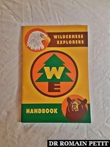 Page de couverture du manuel Wilderness Explorers inspiré par le film Disney Pixar Là-Haut