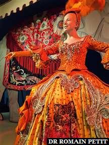 Costume de cirque au musée The Ringling à Sarasota