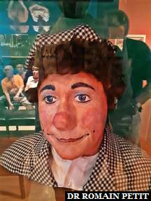 Buste du clown David Larible au musée The Ringling à Sarasota