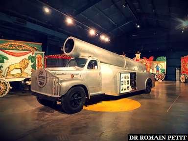 Canon pour homme mobile au musée The Ringling à Sarasota