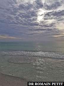 Golf du Mexique vu de la plage de Sarasota 2