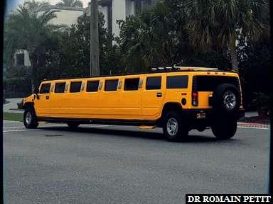 Limousine Hummer à Naples