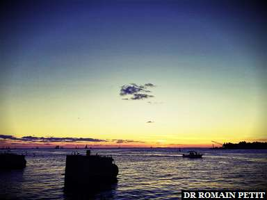 Couché de soleil à Key West