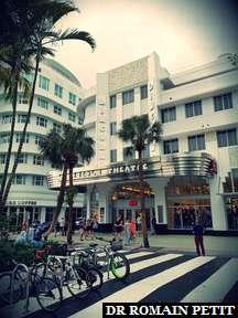 Bâtiment style Art Deco à Miami 1