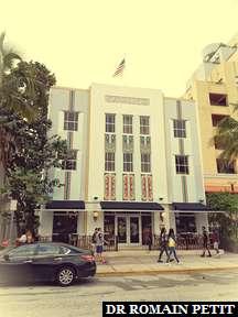 Bâtiment style Art Deco à Miami 3