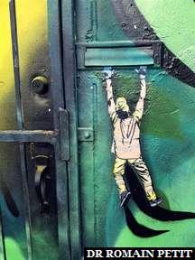 Fresque murale à Wynwood Walls à Miami 1