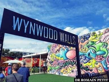 Entrée de Wynwood Walls à Miami