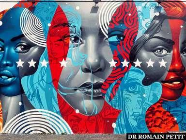 Fresque murale à Wynwood Walls à Miami 5