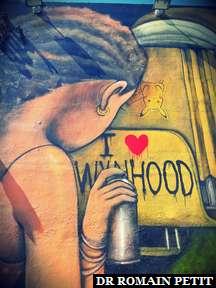 Fresque murale à Wynwood Walls à Miami 13
