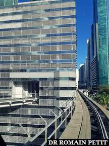 Immeubles à Miami en metromover 2