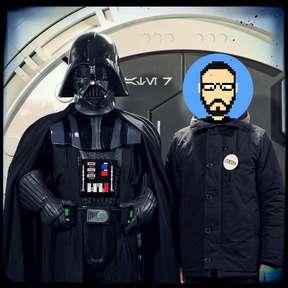 Rencontre avec Darth Vader à Starport
