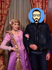 Rencontre avec Raiponce (du film homonyme) à Magic Kingdom Park