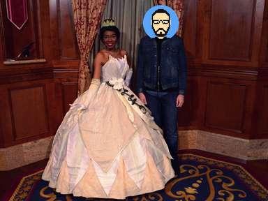 Rencontre avec Tiana (La Princesse et la Grenouille) à Magic Kingdom Park