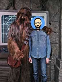 Rencontre avec Chewbacca (Star Wars) à Disney's Hollywood Studios