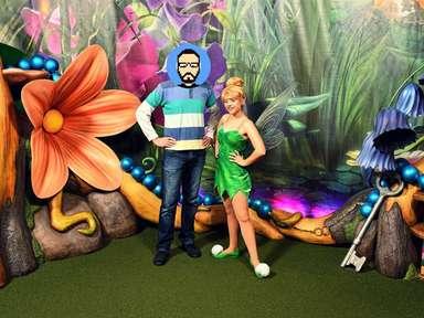 Rencontre avec Tinkerbell à Magic Kingdom Park