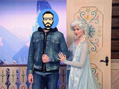 Rencontre avec Elsa (La Reine des Neiges) à Epcot