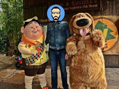 Rencontre avec Russel et Dug (Là-Haut) à Disney's Animal Kingdom